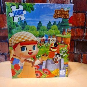 Animal Crossing 1000 piece puzzle